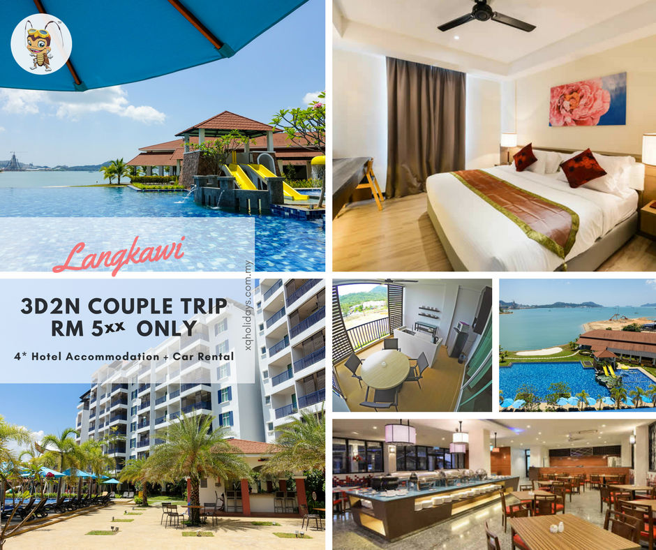 Langkawi 3D2N Combo Package #2 【RM588】